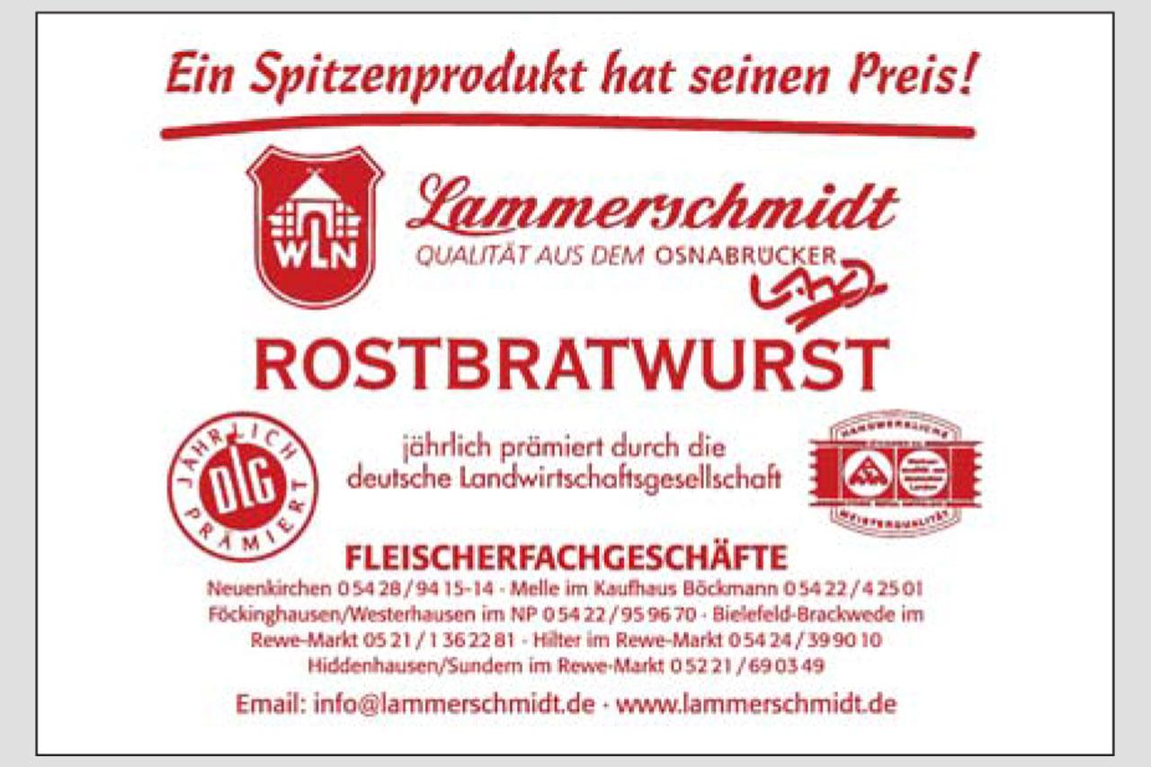 Hammerschmidt Rostbratwurst