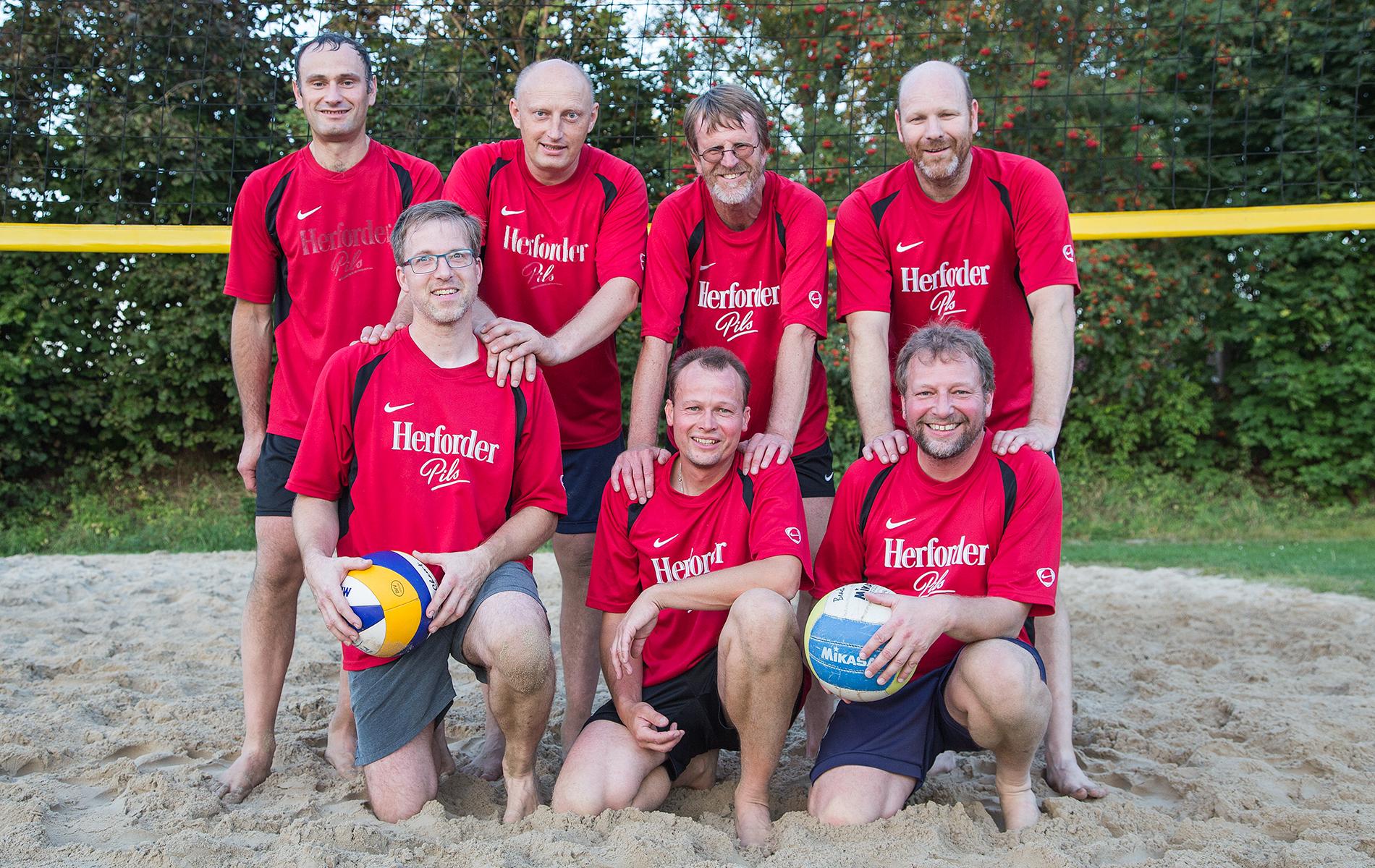 Volleyballteam TuS Spenge