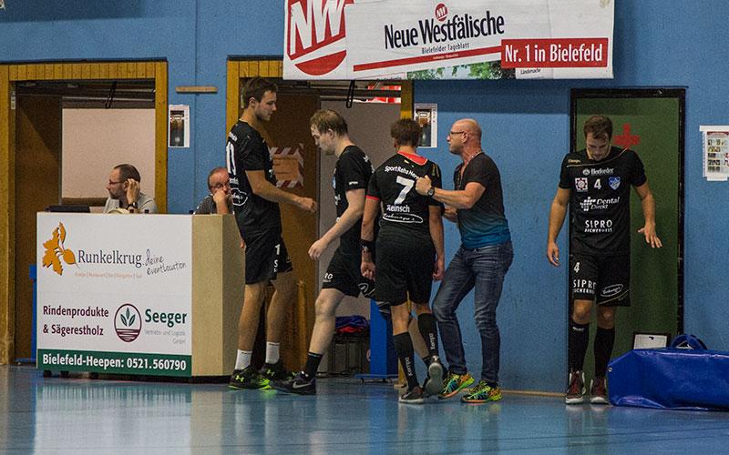 Der TuS verliert das Derby 27:24 gegen »bockstarke« Altenhagen-Heepener