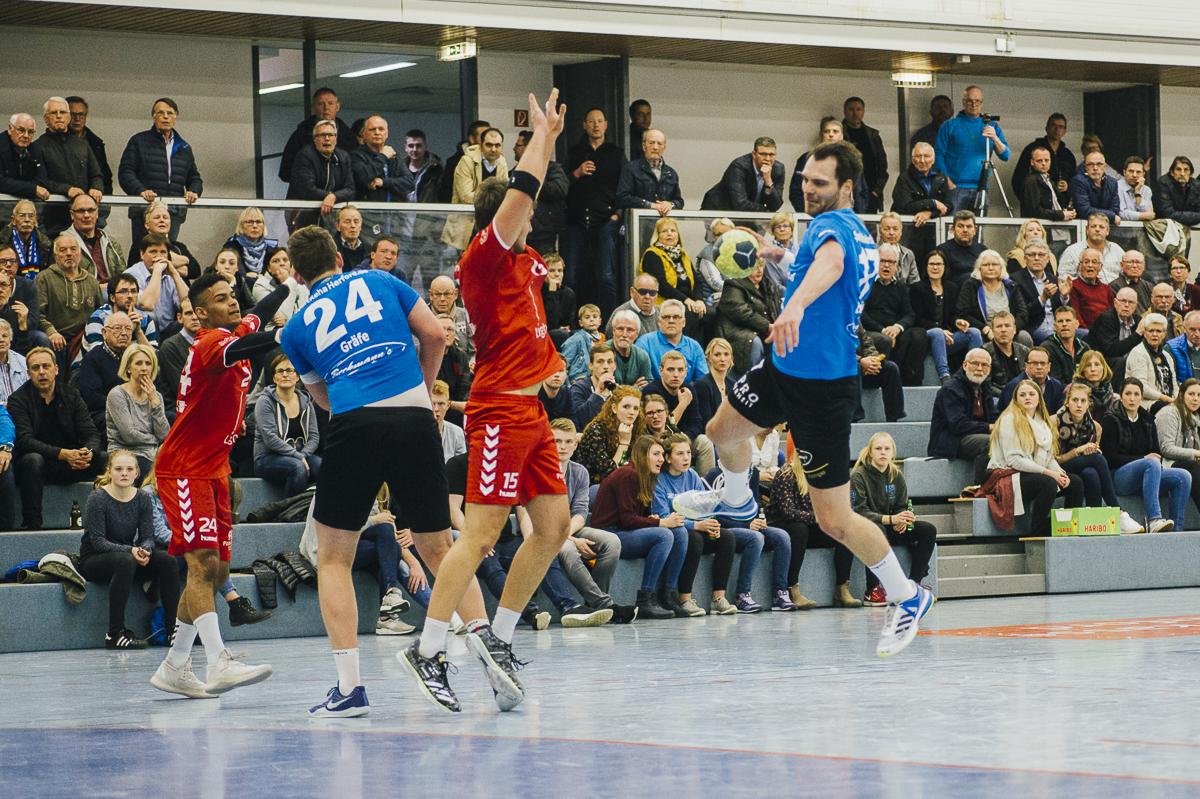 SG Handball Hamm 2 gegen den TuS chancenlos!