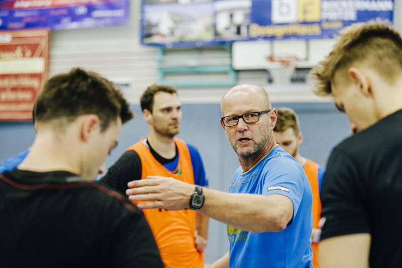 Das Trainerteam lobt die Mannschaft!