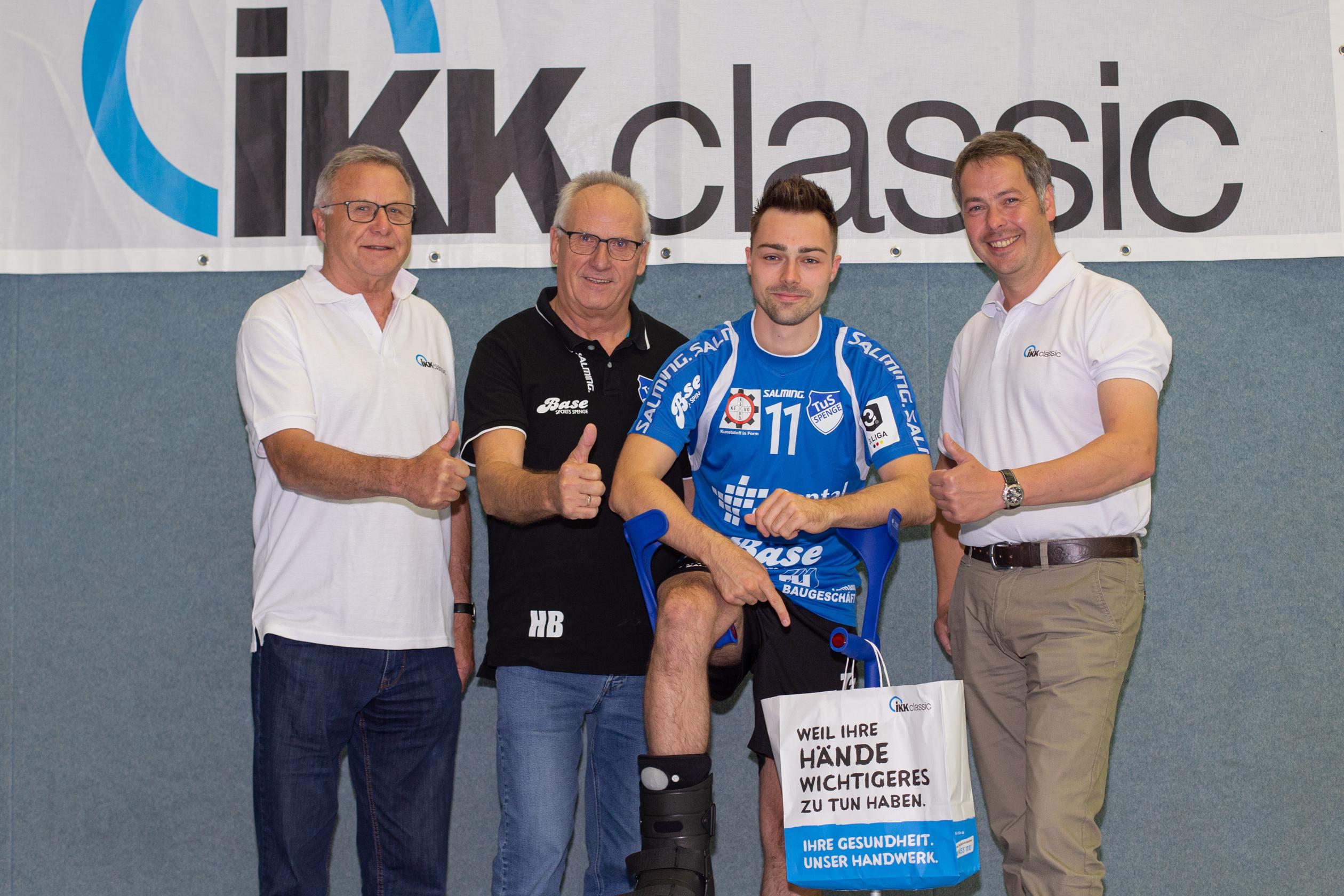 Die IKK classic verlängert Sponsorenvertrag