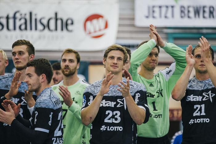 Der THW verleiht der Spenger Sporthalle »Handballglanz«!